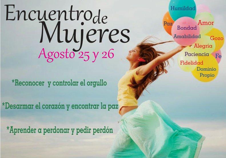 Encuentro de Mujeres - Agosto 25 y 26