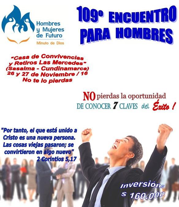 Encuentro de Hombres - Sasaima, Nov. 26 y 27 / 2016