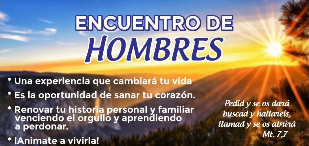 Encuentro de Hombres - Renueva tu historia personal y familiar venciendo el orgullo y aprendiendo a perdonar